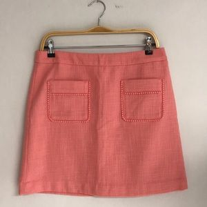 LOFT Tweed Pocket Mini Skirt NWT
